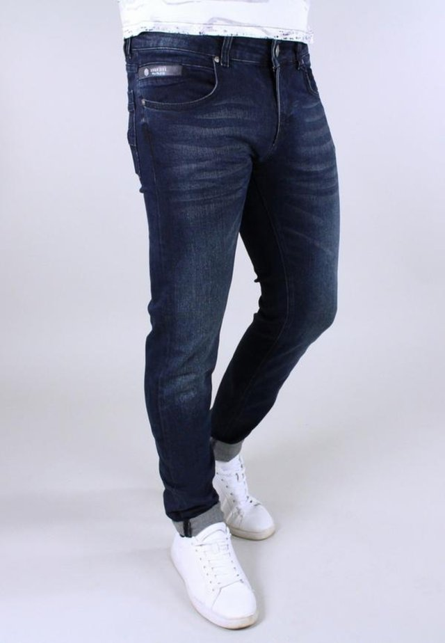 Slim fit -farkut - dark blue