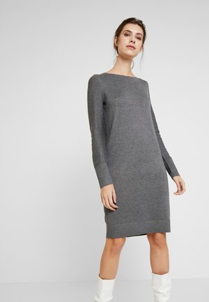 DRESS - Strickkleid - dark grey