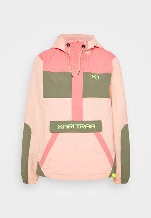 SIGNE ANORAK - Outdoorjas - light pink
