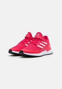 adidas Performance - RAPIDARUN UNISEX - Neutral running shoes - power pink/glory pink/core black - 1