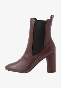 Head over Heels by Dune - OTTY - Bottines à talons hauts - burgundy - 1