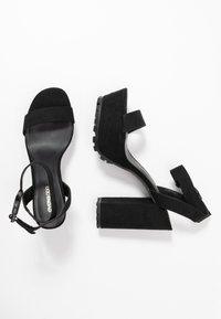 Even&Odd - High heeled sandals - black - 3