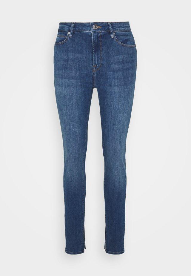 BOWIE SPLIT WASH FLORENCE - Jeans Skinny Fit - denim blue