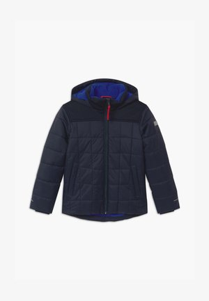 BOY FIX HOOD - Winterjas - black/blue