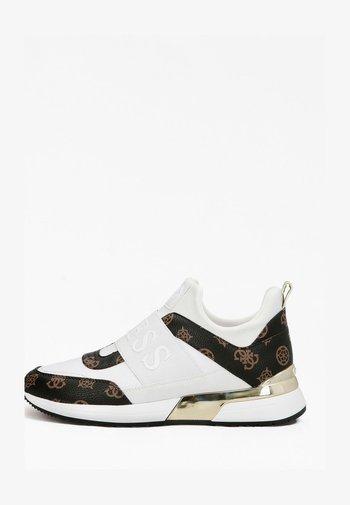 Sneakers basse - mehrfarbig, weiß