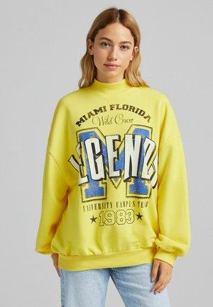 OVERSIZE - Sweatshirt - yellow
