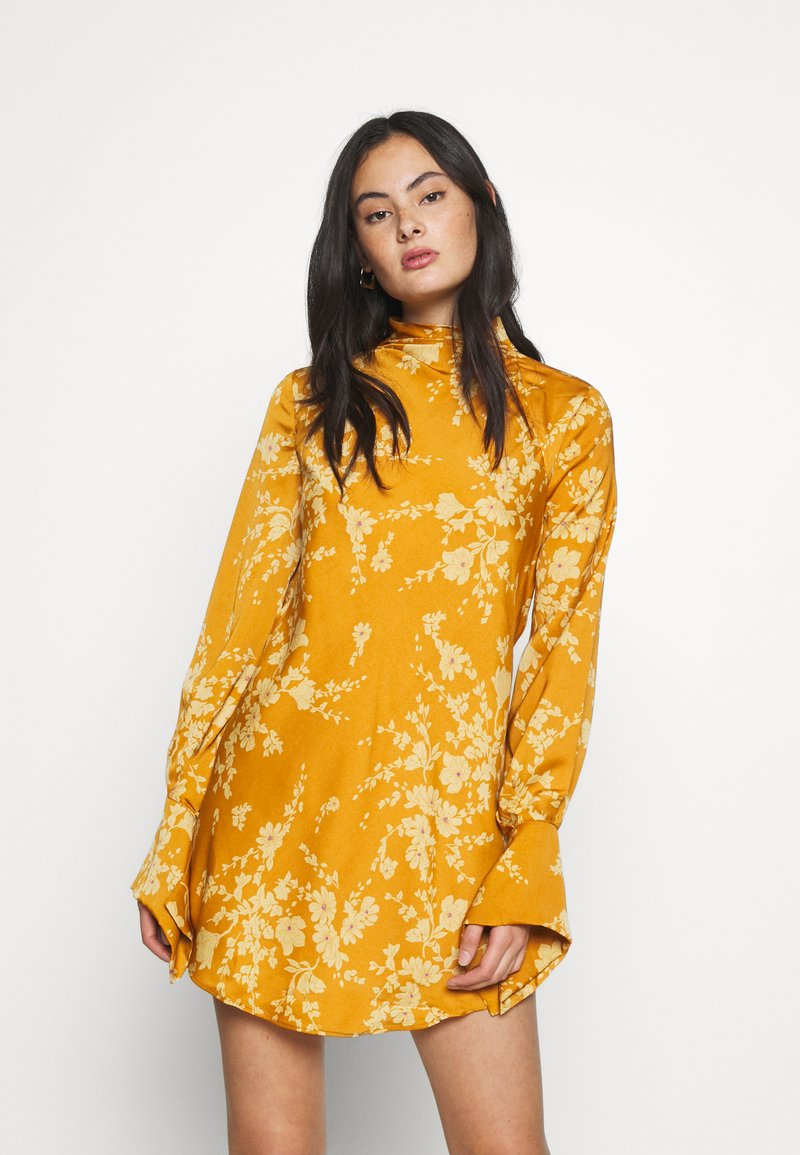 Free People - ARIES MINI - Day dress - golden combo