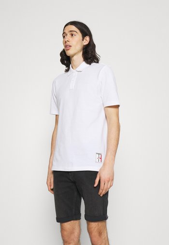 ONE PLANET BACK LOGO UNISEX - Polo shirt - white