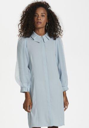 Košilové šaty - celestial blue