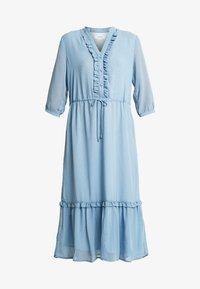 Moss Copenhagen - EVALINE 3/4 DRESS - Day dress - blue - 3