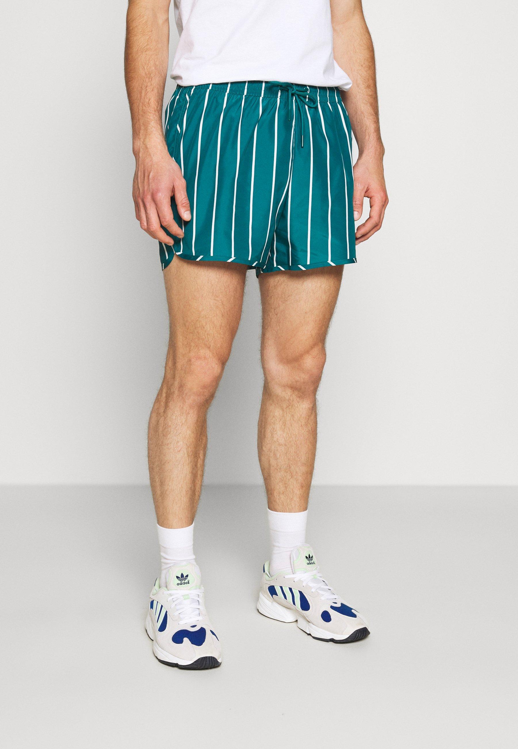 Men STRIPED SWIM - Swimming shorts
