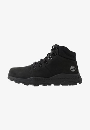 BROOKLYN HIKER - Höga sneakers - black