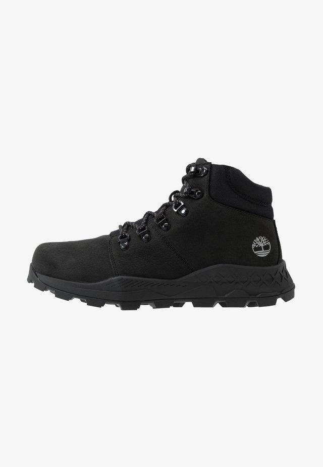 BROOKLYN HIKER - Sneakersy wysokie - black