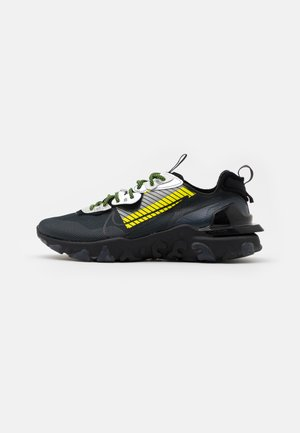 REACT VISION PRM 3M UNISEX - Trainers - anthracite/black/volt