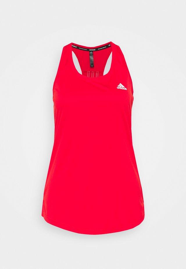 Sportshirt - vivid red/white