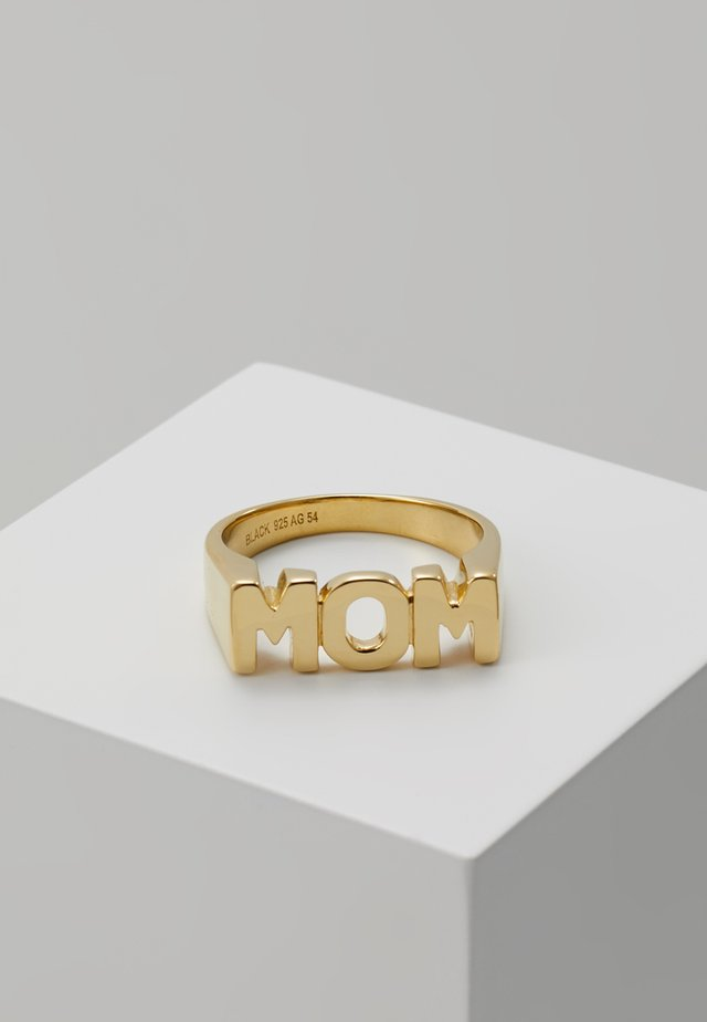 MOM - Ring - gold-coloured