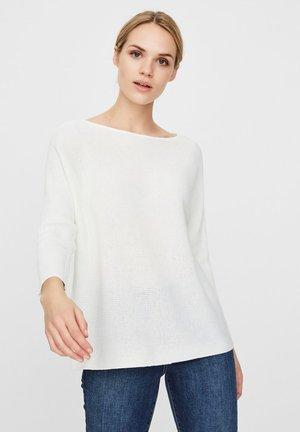 VMNORA BOATNECK - Jumper - snow white