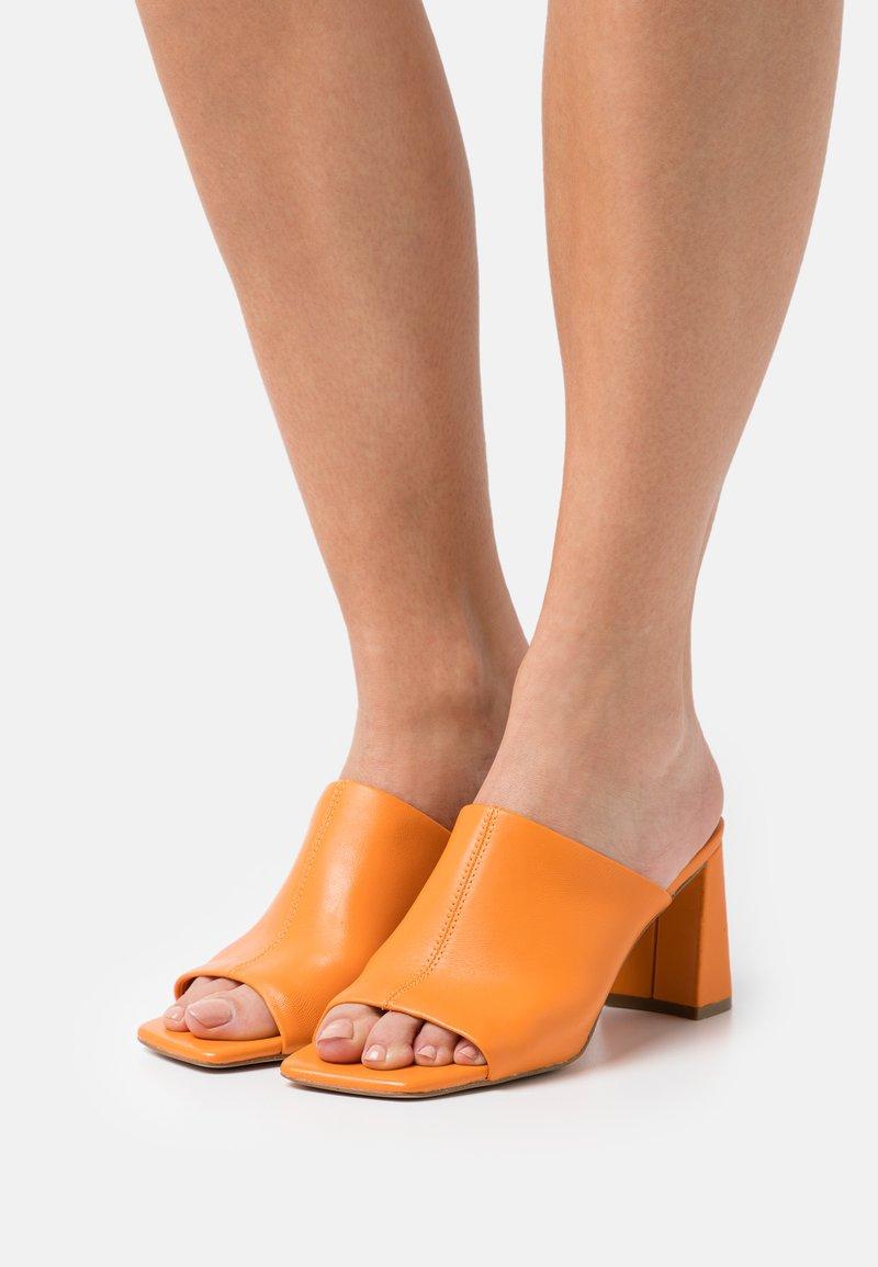 Steve Madden - LIZO - Heeled mules - orange
