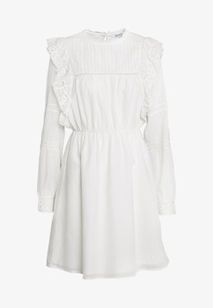 LACE FRILL DRESS - Kjole - white