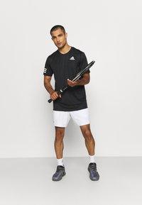adidas Performance - ERGO SHORT - Träningsshorts - white/black - 1