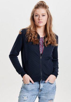 ONLJOYCE - Zip-up hoodie - dunkelblau