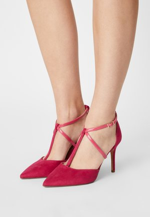 WIDE FIT DAINTY COURT - Classic heels - pink