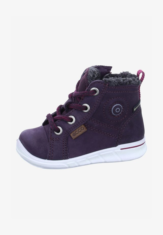 Lace-up boots - purple
