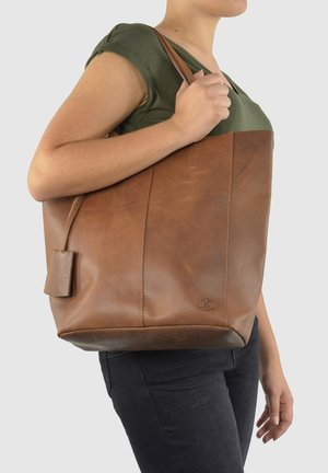 CASSIDY - Tote bag - braun