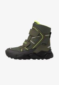 Superfit - ROCKET - Zimní obuv - grün/gelb - 0