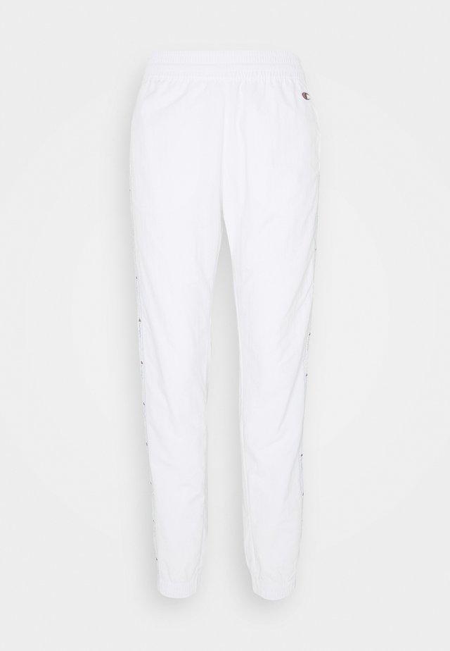 ELASTIC CUFF PANTS ROCHESTER - Pantaloni sportivi - white/blue