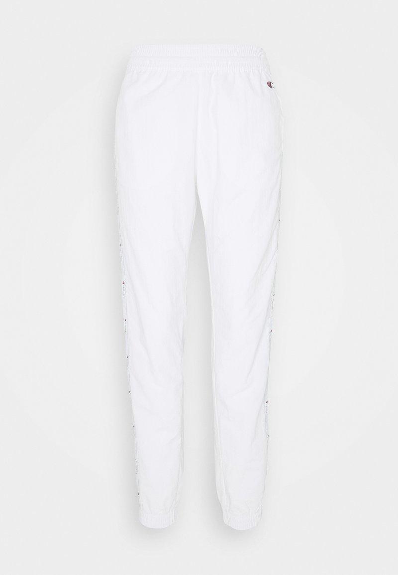 Champion - ELASTIC CUFF PANTS ROCHESTER - Pantalones deportivos - white/blue