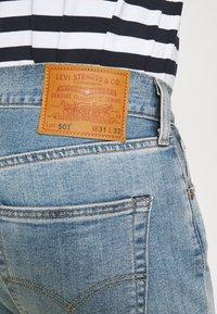 Levi's® - 501 LEVI'S ORIGINAL UNISEX - Jeans a sigaretta - med indigo worn in - 4