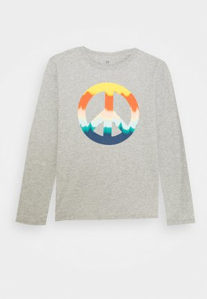 BOY  - Long sleeved top - light heather grey