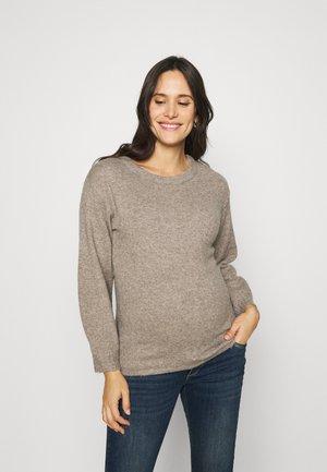Sweter - silver mink melange