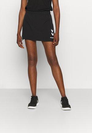 PRO GAME SKORT WOMAN - Sportovní sukně - caviar/marshmallow