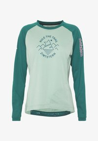 Zimtstern - PUREFLOWZ  - Funktionsshirt - granite green/pacific green/blush - 3