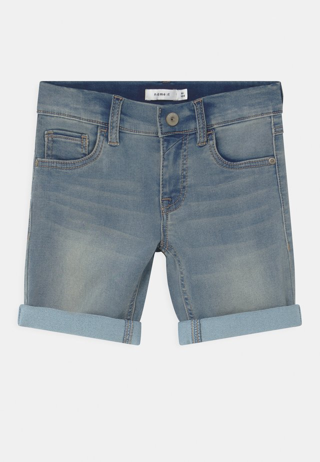 NKMTHEO - Jeansshort - light blue denim