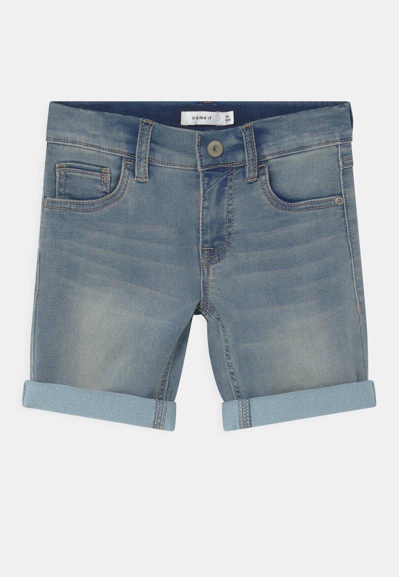 Name it - NKMTHEO - Shorts vaqueros - light blue denim