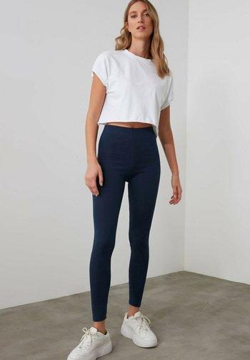 Leggings - Trousers - navy blue