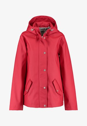 Parka - deep red