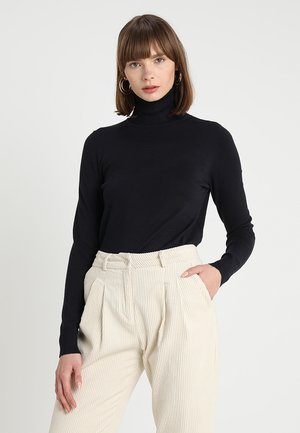 MILA ROLLNECK - Jumper - dark blue
