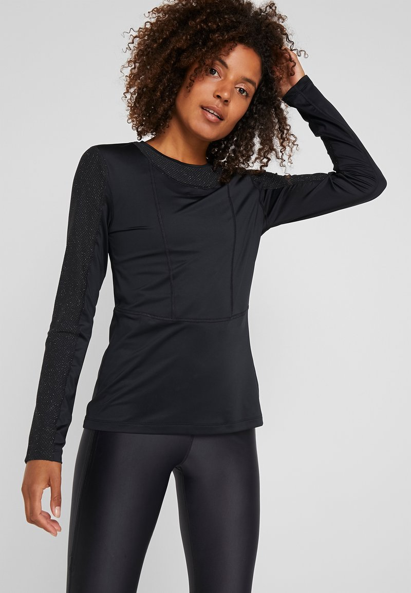 Nike Performance - WARM HOLLYWOOD - Funktionsshirt - black/clear