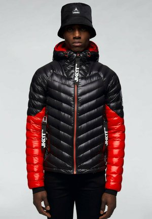 RISING RACER - Down jacket - red