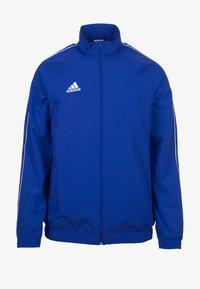 adidas Performance - CORE PRE - Chaqueta de entrenamiento - blue/white - 0