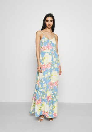 VIMESA STRAP DRESS - Maxi dress - cashmere blue