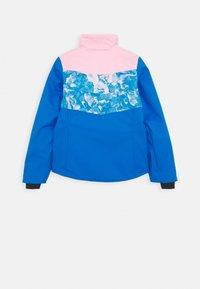 Kjus - GIRLS MILA JACKET - Snowboardová bunda - blue/pink - 2