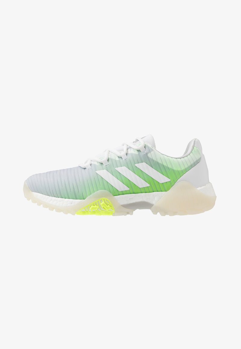 adidas Golf - CODECHAOS - Golfové boty - footwear white/signal green