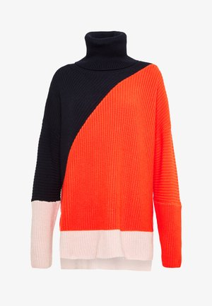 PIERA - Jumper - multi-coloured/red/dark blue