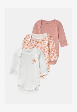 NBFBODY 3 PACK - Body - silver pink