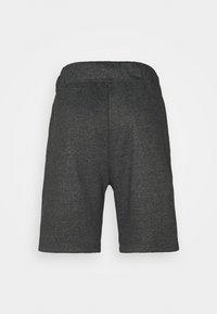 Curare Yogawear - SHORTS - Korte broeken - darkgrey melange - 1